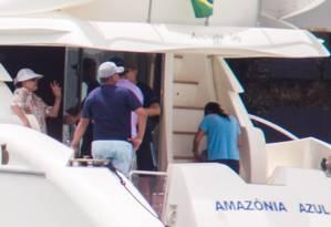 Presidente Dilma Rousseff a bordo da lancha Amazônia Azul Foto: ED FERREIRA / ESTADÃO CONTEÚDO