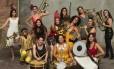 Banda Damas de Ferro, uma das convidadas para tocar no Bloco das Mulheres Rodadas