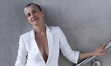 Cassia Kis Magro, aos 56 anos, gosta de dizer que é 'uma atriz de 60 anos' Foto: MURILLO MEIRELES