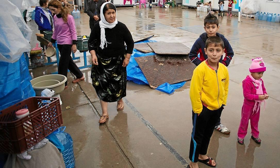 No centro para refugiados no Curdistão iraquiano, famílias yazidis buscam paz, após a perseguição do Estado Islâmico: minoria desconhecida e incompreendida Foto: Anton Fric / ONG Ajuda à Igreja que Sofre