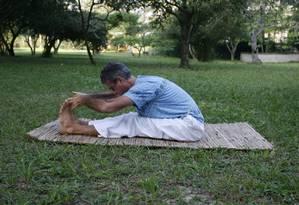 Prática promete grandes benefícios Foto: Luiz Morier / Agência O Globo