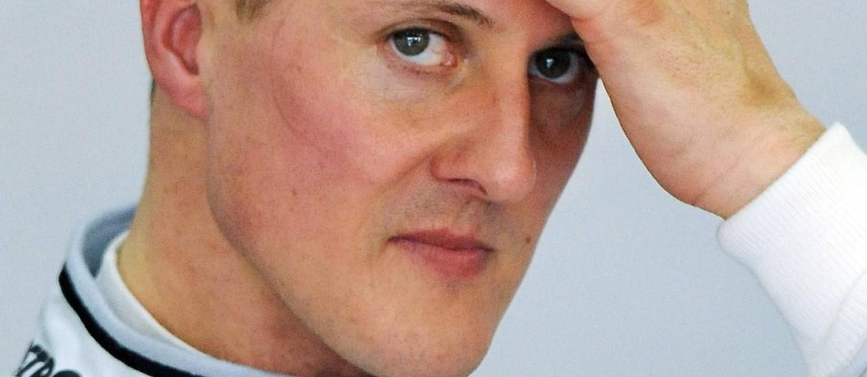 Em 2010. Michael Schumacher na Mercedes Foto: Torsten Blackwood/AFP/26-03-2010