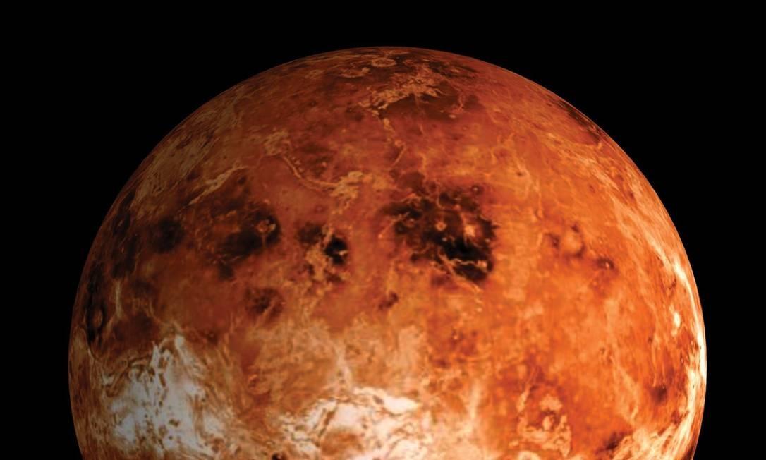 O 'outro' vermelhinho: Vênus passa à frente de Marte na corrida pelo Sistema Solar Foto: AP