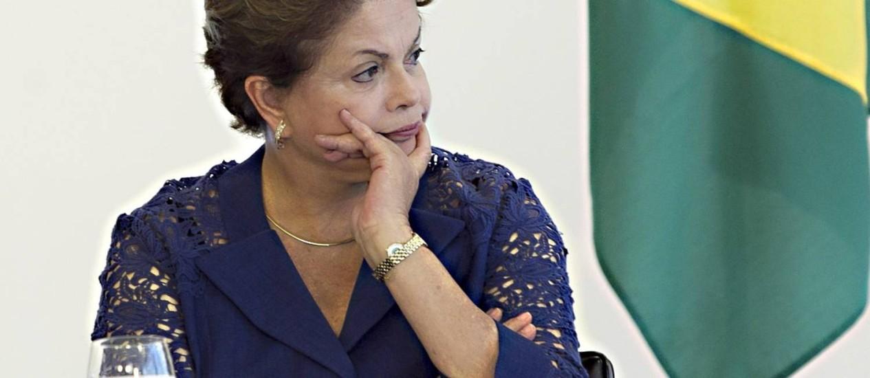 Mudança regras de concessão de benefícios é vista como quebra das promessas feitas por Dilma Rousseff Foto: Jorge William/4-12-2014