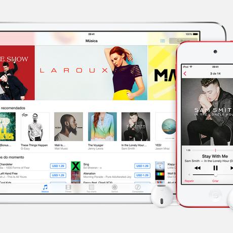iTunes Store Foto: Reprodução