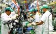 Fábrica da Honda em Manaus demitiu em 2014: setor automotivo foi dos mais afetados