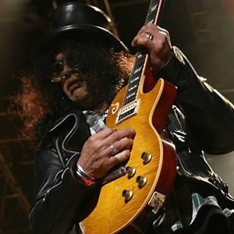 O guitarrista Slash Foto: Divulgação / Divulgação