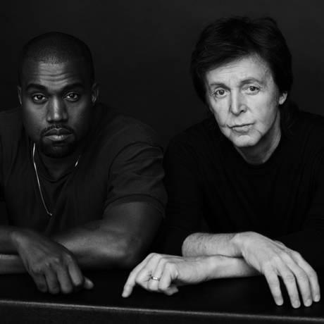 Kanye West lança primeira colaboração com Paul McCartney Foto: Divulgação