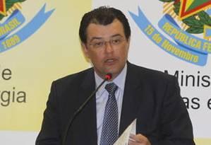 Novo ministro de Minas e Energia, Eduardo Braga Foto: Agência O Globo / Givaldo Barbosa