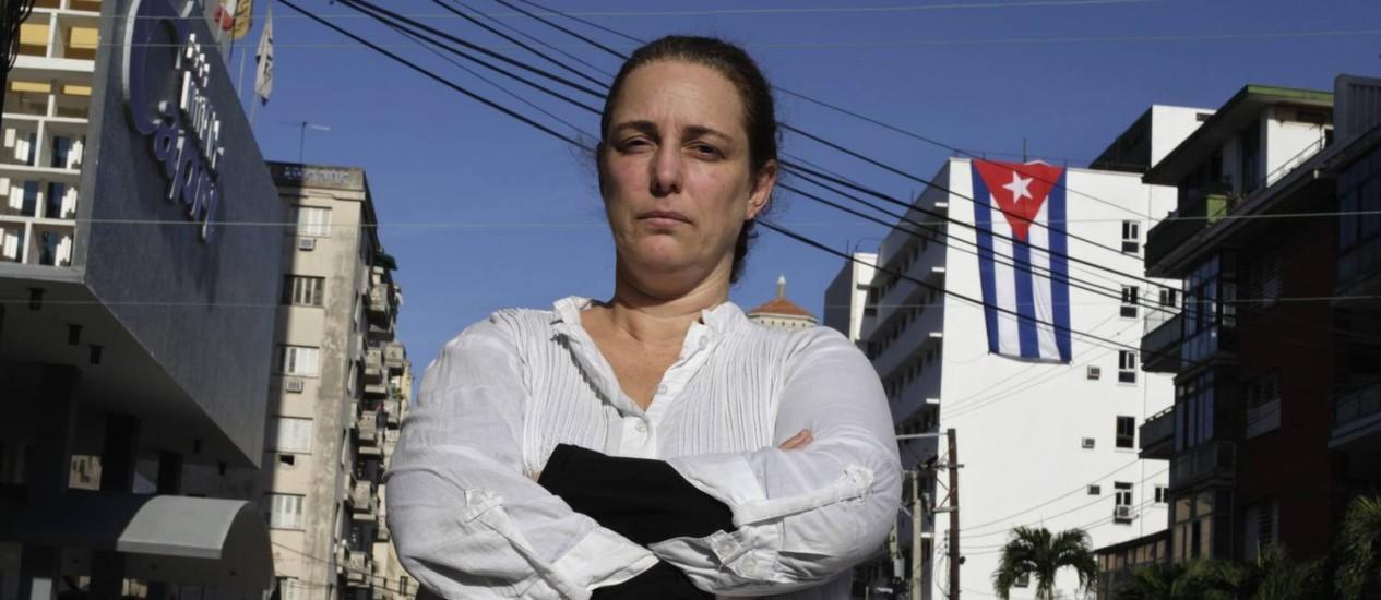 Prisão de Tania Bruguera desencadeou nova crise entre governo cubano e grupos dissidentes Foto: ENRIQUE DE LA OSA / REUTERS
