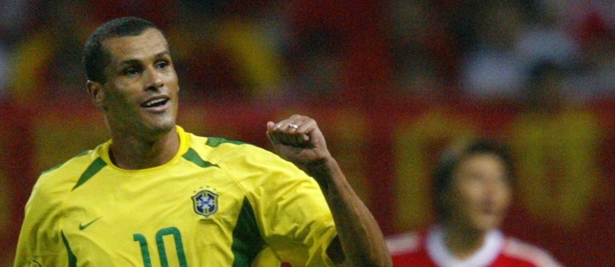 Craque. Rivaldo em 2002: campeão mundial com a seleção brasileira Foto: Antonio Scorza / Antonio Scorza/AFP/8-6-2002