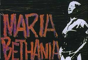 Capa do disco 'Maria Bethânia', de 1965 Foto: Reprodução