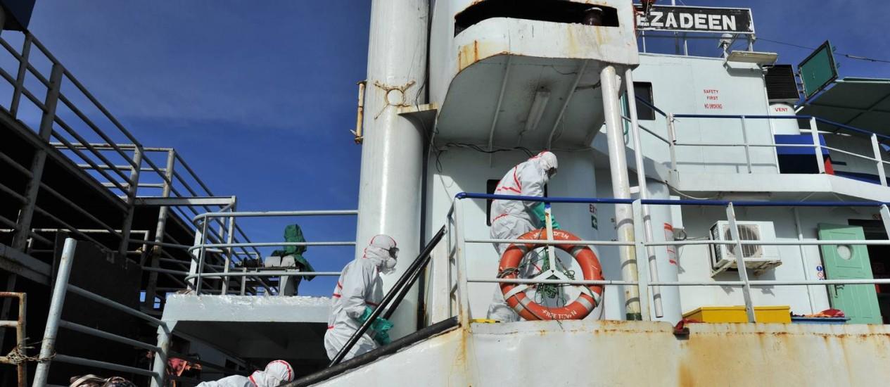 Ezadeen é um dos símbolos da ação de coiotes no Mediterrâneo Foto: ALFONSO DI VINCENZO / AFP