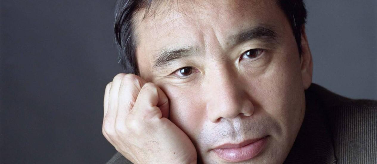 O escritor japonês Haruki Murakami Foto: Divulgação