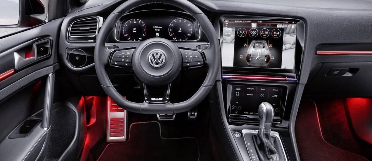 Volkswagen Golf R Touch Foto: Divulgação