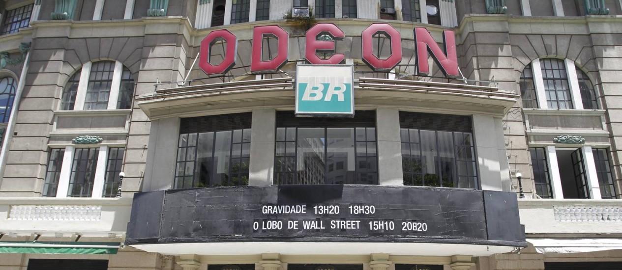 Grupo Luiz Severiano Ribeiro devolverá o Odeon em março, a tempo das comemorações dos 450 anos do Rio. Foto: Márcia Foletto / Márcia Foletto