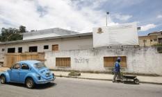 O Centro de Tratamento de Hemodiálise: prefeitura de Teresópolis atrasa entrega Foto: Pedro Teixeira