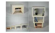Compacta, prateleira e mesa de centro são algumas das formas que o móvel pode ter Foto: ICreatived