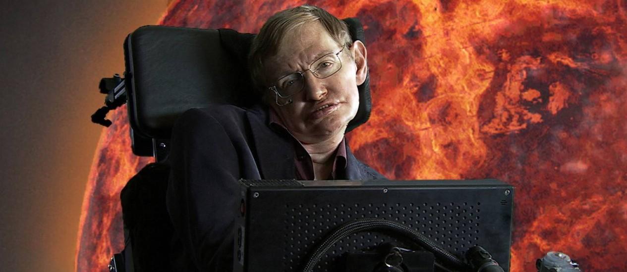 Filme sobre vida de Stephen Hawking estreia neste ano Foto: Agência O Globo