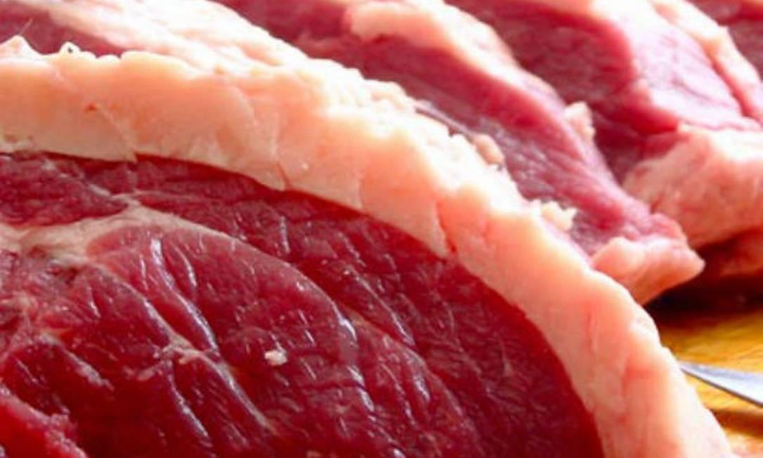 Carnes tiveram peso adulterado com mistura de líquidos à base de água Foto: REPRODUÇÃO