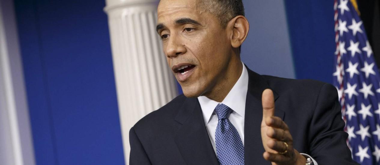 Obama aposta em novos programas na reta final de seu governo Foto: J. Scott Applewhite / AP
