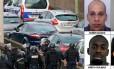 Os irmãos Chérif e Said, supostos autores do ataque ao jornal 'Charlie Hebdo', e Amedy e Hayat, que mantém reféns em Paris, são cercados pela polícia