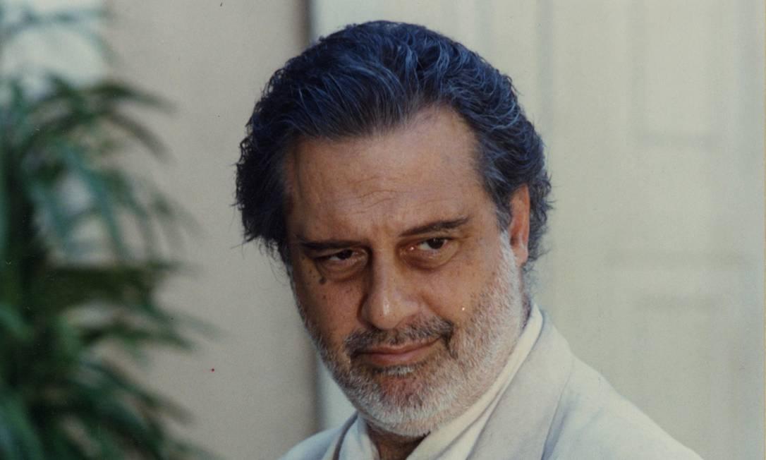Primeira fase. Antonio Fagundes caracterizado como Antonio Mezenga Foto: TV Globo/divulgação