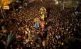 Mais de um milhão de católicos saíram às ruas da capital das Filipinas, Manilla, nessa sexta-feira para acompanhar a procissão do Nazareno Negro