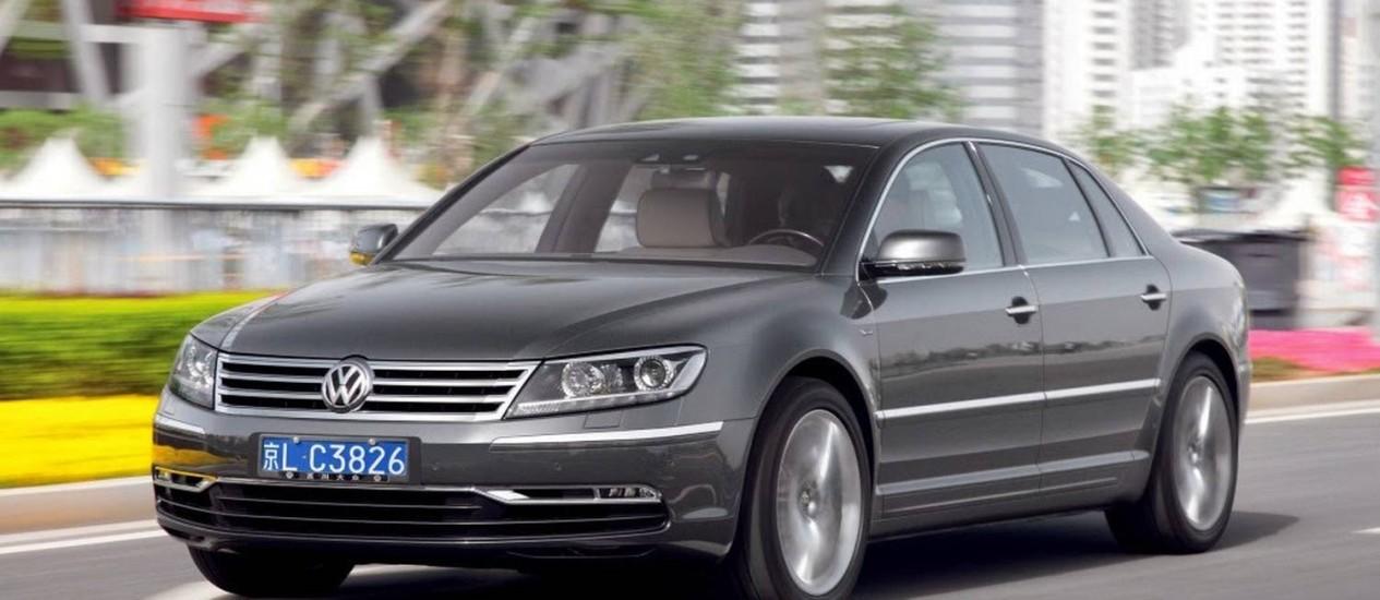 Volkswagen Phaeton Foto: Divulgação