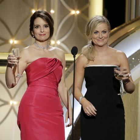 Tina Fey e Amy Poehler apresenta o Globo de Ouro pela terceira vez Foto: Divulgação