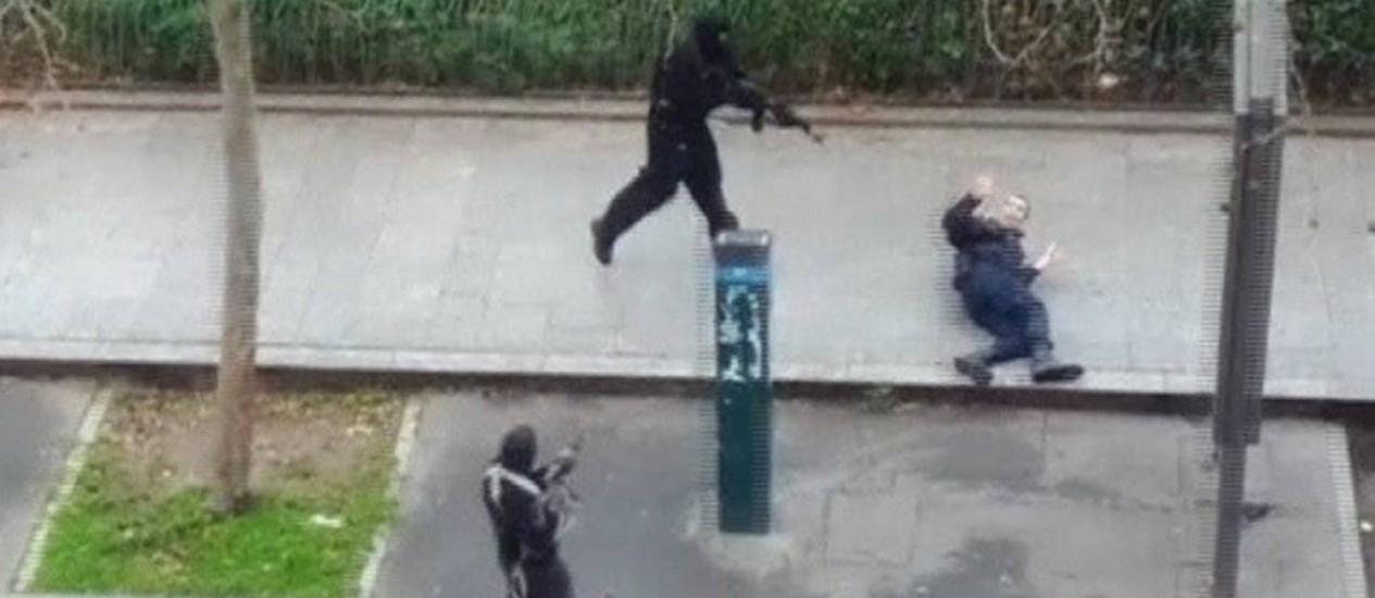 """Ataque ao semanário """"Charlie Hebdo"""". Al-Qaeda na Península Arábica reivindicou autoria do atentado Foto: REUTERS"""