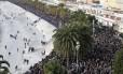 Milhares se reúnem em Nice