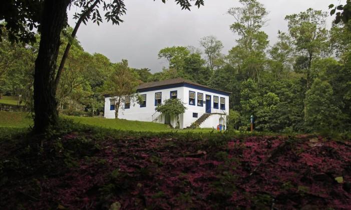 Sede do Parque Nacional da Serra dos Órgãos, em Guapimirim Foto: Custódio Coimbra / Agência O Globo