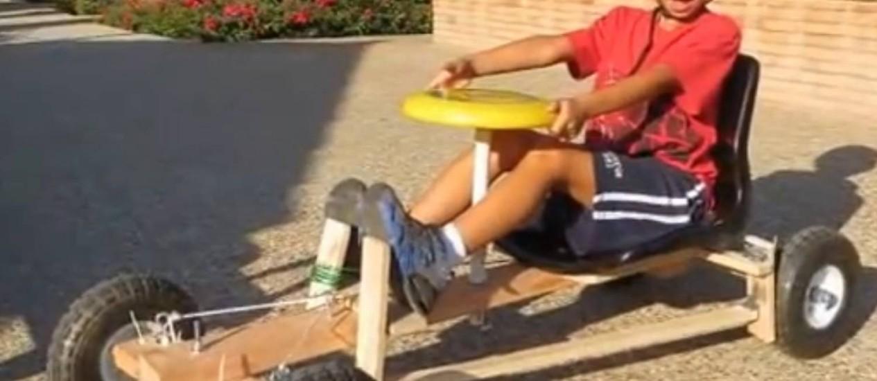 Carrinho é rápido e prático Foto: Reprodução/YouTube