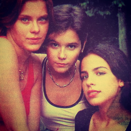 Carolina Dieckmann, Deborah Secco e Maria Ribeiro Foto: Reprodução/Instagram