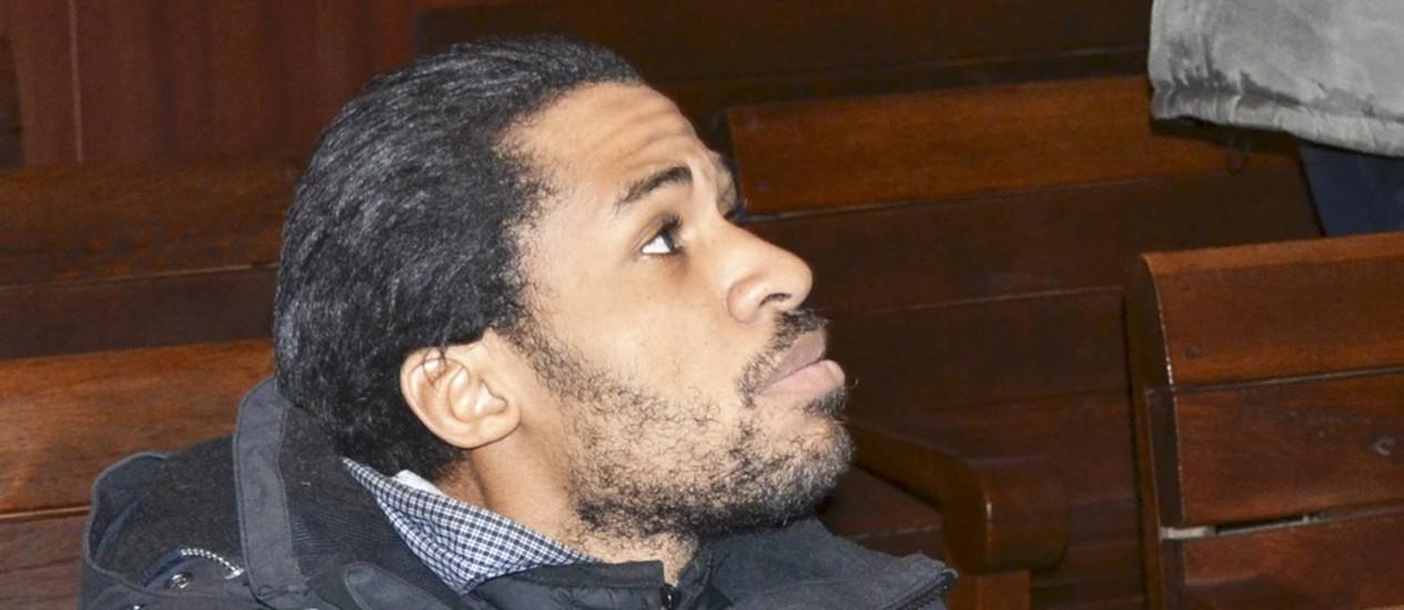 Fritz-Joly Joachin, que aguarda possível extradição em Sófia Foto: BGNES/MARICA / REUTERS