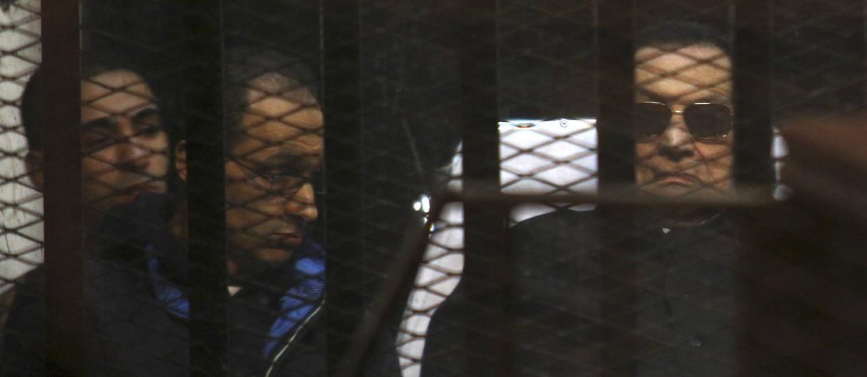 Aos 86 anos, Mubarak tem nova vitória no sistema judiciário egípcio Foto: Tarek el-Gabbas / AP