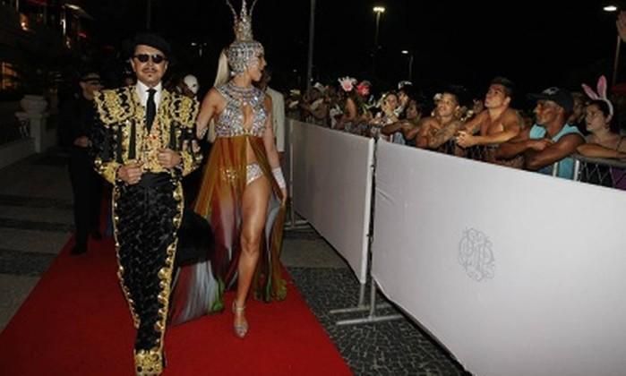 O baile de carnaval do Copacabana Palace este ano não terá um tapete vermelho na entrada Foto: Marcos Ramos / Agência O Globo