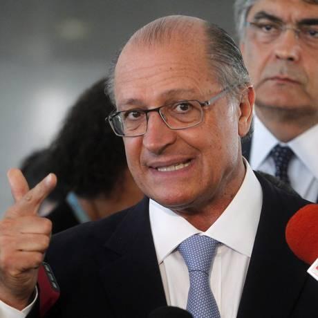 Governador do Estado de São Paulo, Geraldo Alckmin Foto: Givaldo Barbosa / Agência O Globo