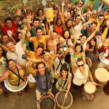 CaBloco Muderno faz sua estreia no carnaval carioca no bairro de Vila Isabel Foto: Mutante Produções/Divulgação