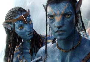 Cena do filme Avatar, de James Cameron Foto: Agência O Globo