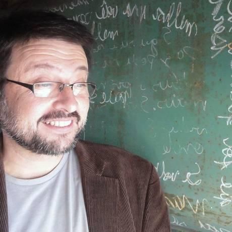 O diretor Joel Pizzini Foto: Divulgação