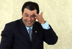 Eduardo Braga, ministro de Minas e Energia: população deve economizar luz Foto: Gustavo Miranda / Agência O Globo