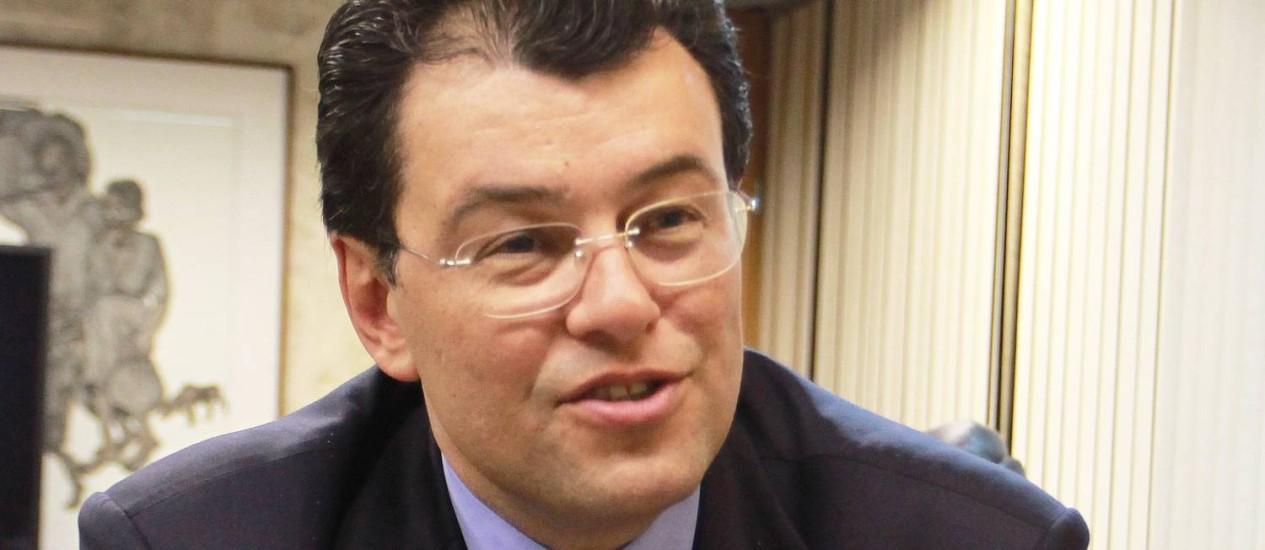 Eduardo Braga, ministro das Minas e Energia Foto: Ailton de Freitas / Agência O Globo