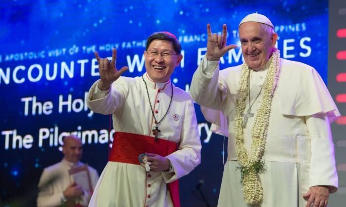 EL CARDENAL JORGE BERGOGLIO EL NUEVO PAPA. - Página 27 PHILIPPINES-VATICAN-RELIGION-POPE-GR421DATR.1