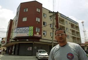 Leonardo Féo está fechando a Pousada do Trabalhador Foto: Gabriel de Paiva