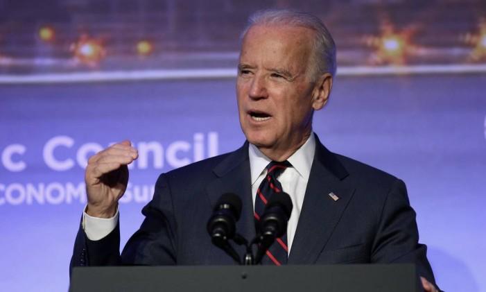 O vice dos EUA, Joe Biden Foto: Emrah Gurel / AP