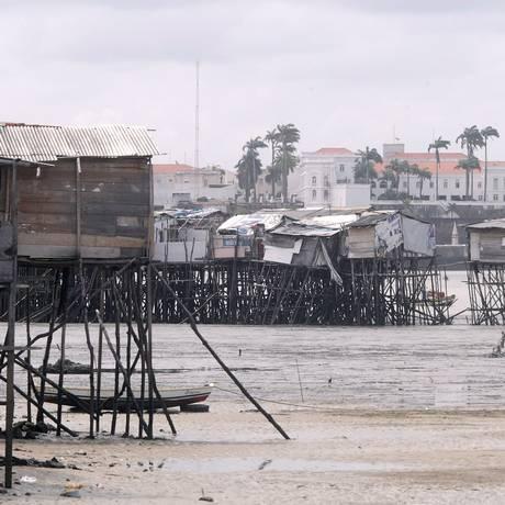 Favela de palafita Ilinha, em São Luís, no Maranhão: desigualdade persistente Foto: Hans Von Manteuffel/10-1-2014