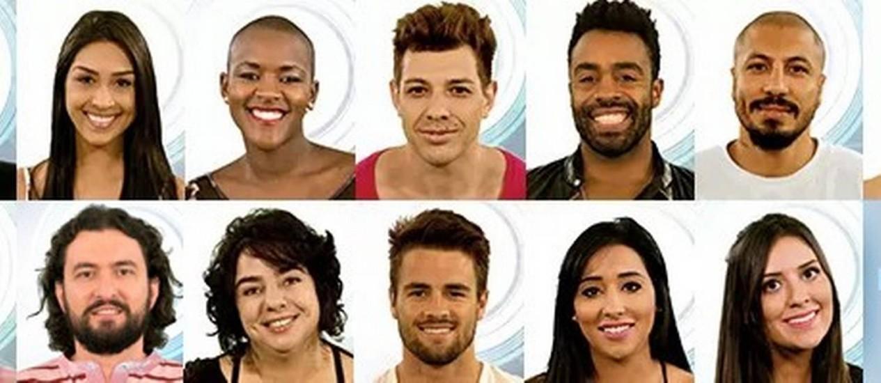 Alguns dos participantes do 'BBB 15' Foto: Reprodução