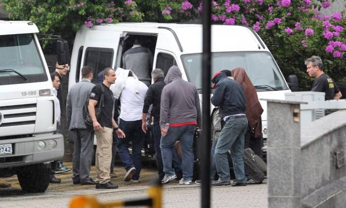 Executivos de empreiteiras acusadas de formar cartel foram presos em novembro Foto: Michel Filho / Agência O Globo